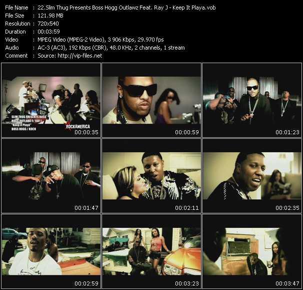 Slim Thug Presents Boss Hogg Outlawz Feat. Ray J video screenshot
