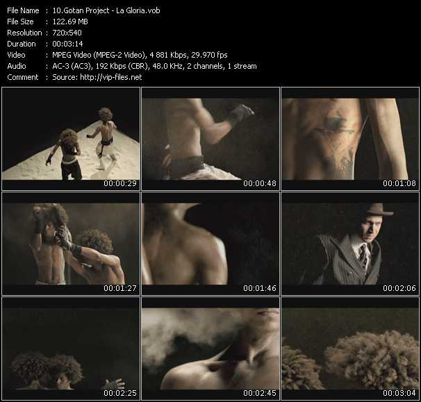 Gotan Project video screenshot