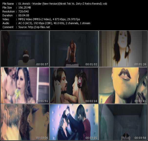 Annick video screenshot