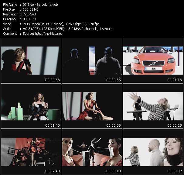 video Barcelona screen