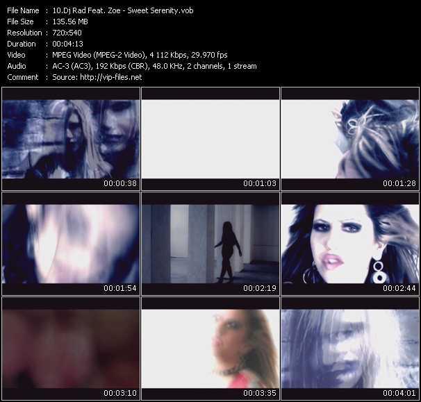 Dj Rad Feat. Zoe video screenshot