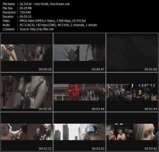 Sylver video screenshot