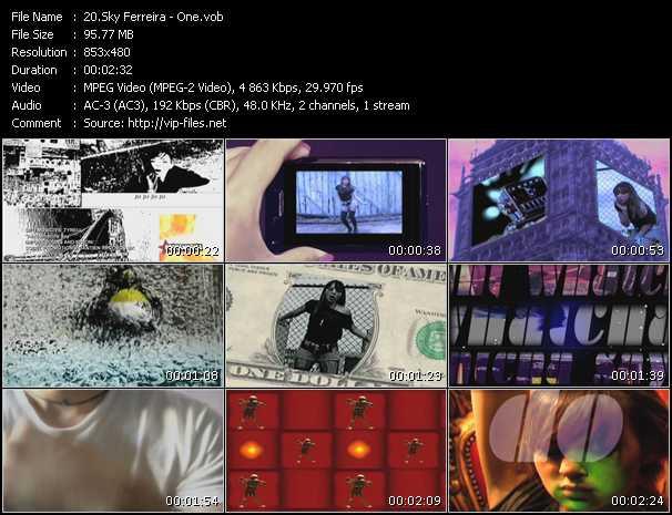 Sky Ferreira video screenshot