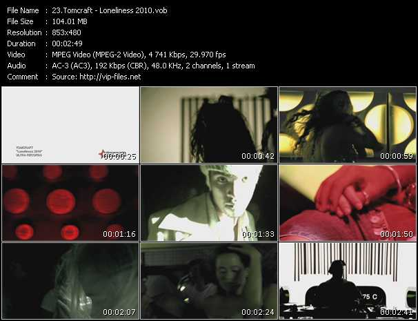Tomcraft video screenshot