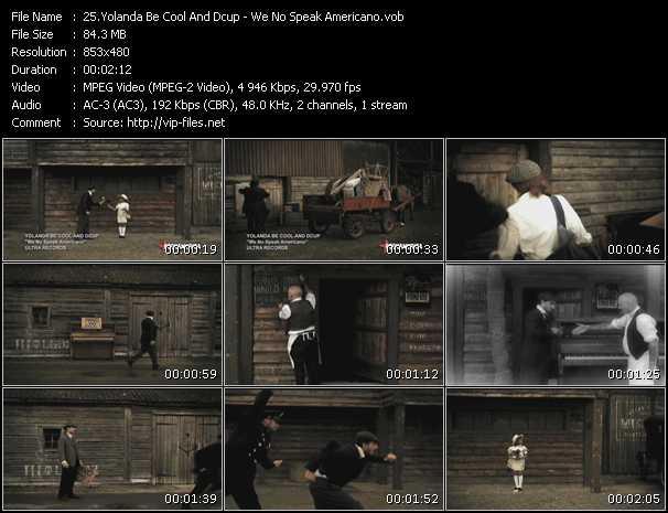 Yolanda Be Cool And Dcup video screenshot