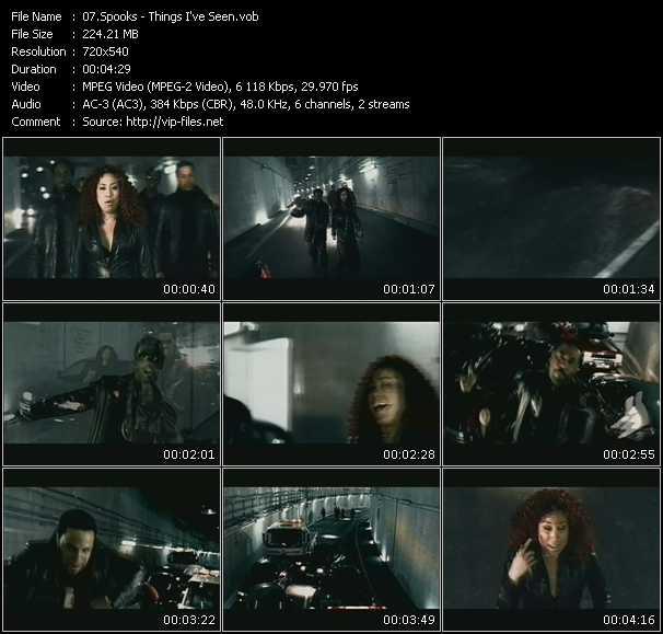 Spooks video screenshot