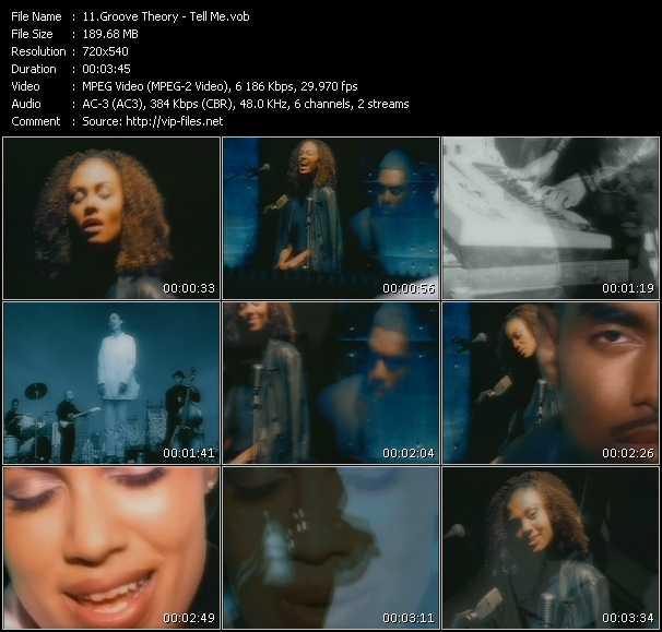 Groove Theory video screenshot