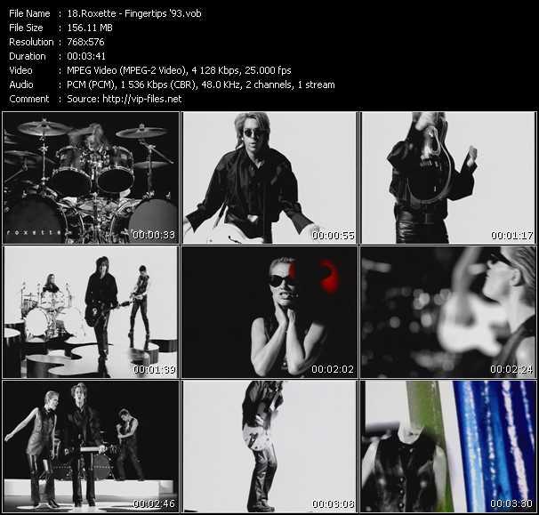 video Fingertips '93 screen