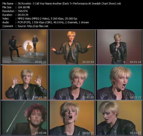 video I Call Your Name Another (Early Tv Performance At Swedish Chart Show) screen