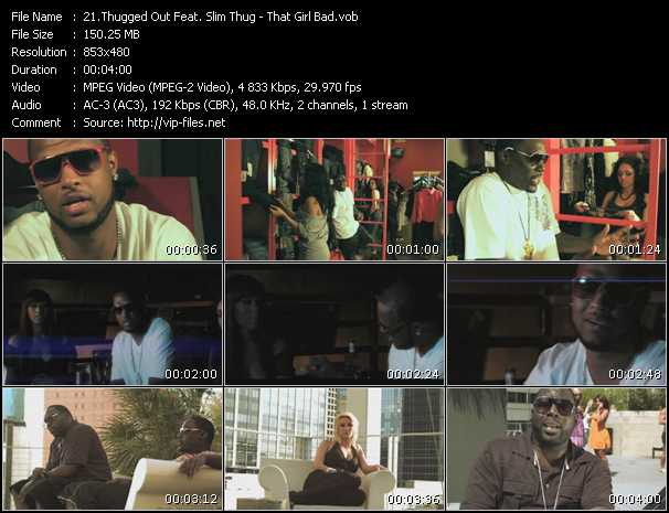 Thugged Out Feat. Slim Thug video screenshot