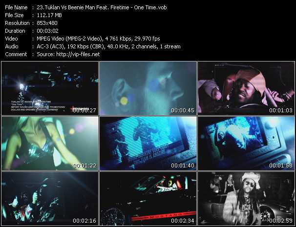 Tuklan Vs. Beenie Man Feat. Firetime video screenshot