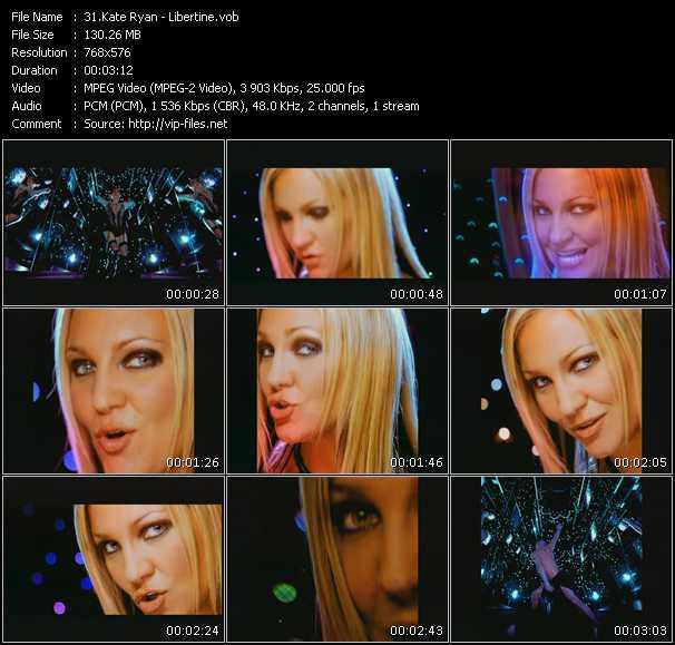 Kate Ryan video screenshot
