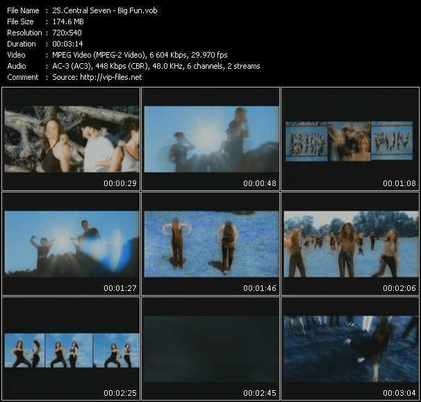 Central Seven video screenshot