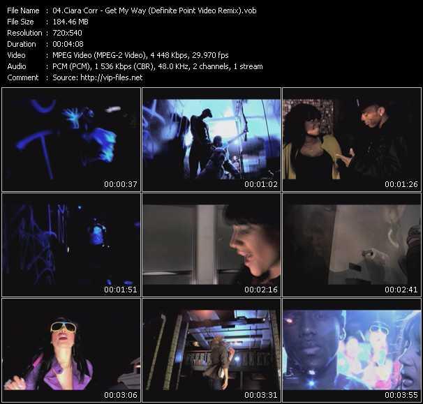 Ciara Corr video screenshot