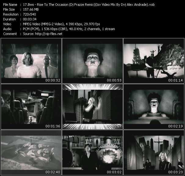 video Rise To The Occasion (Dj Frazze Remix) (Isv Video Mix By Dvj Alex Andrade) screen