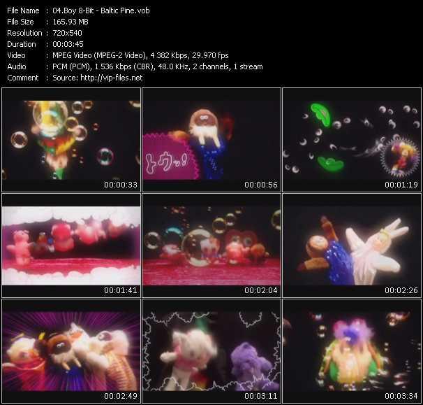Boy 8-Bit video screenshot