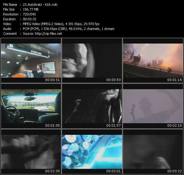 Autokratz video screenshot