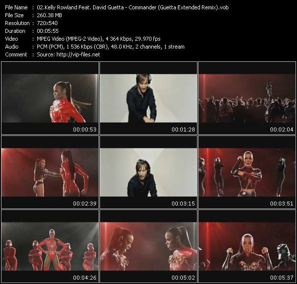 Kelly Rowland Feat. David Guetta video screenshot
