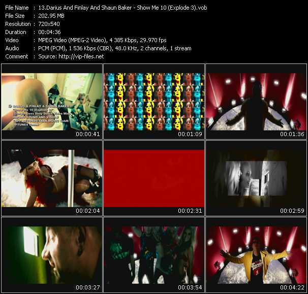 Darius And Finlay And Shaun Baker video screenshot