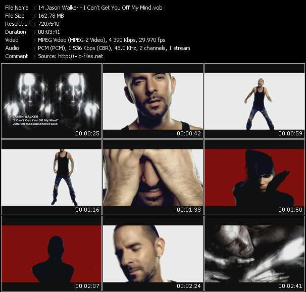 Jason Walker video screenshot