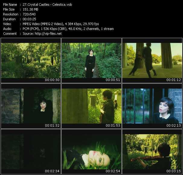 Crystal Castles video screenshot