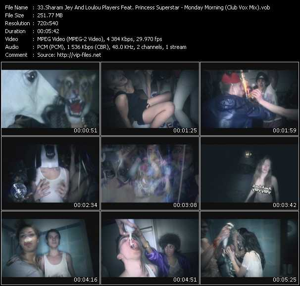 Sharam Jey And Loulou Players Feat. Princess Superstar video screenshot
