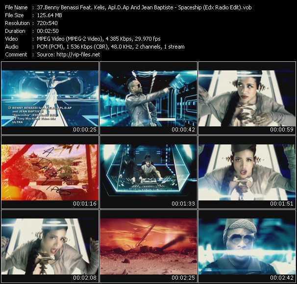 Benny Benassi Feat. Kelis, Apl.De.Ap And Jean-Baptiste video screenshot