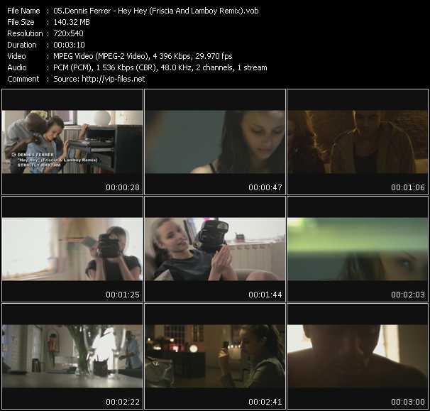 Dennis Ferrer video screenshot