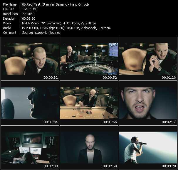 Regi Feat. Stan Van Samang video screenshot