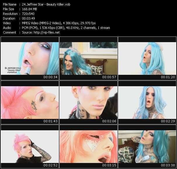 Jeffree Star video screenshot