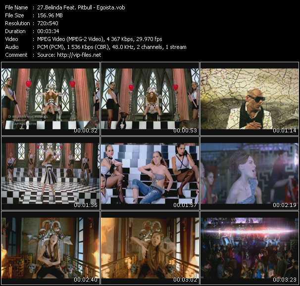 Belinda Feat. Pitbull video screenshot