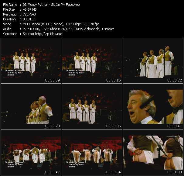 Monty Python video screenshot