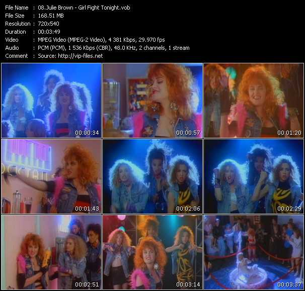Julie Brown video screenshot