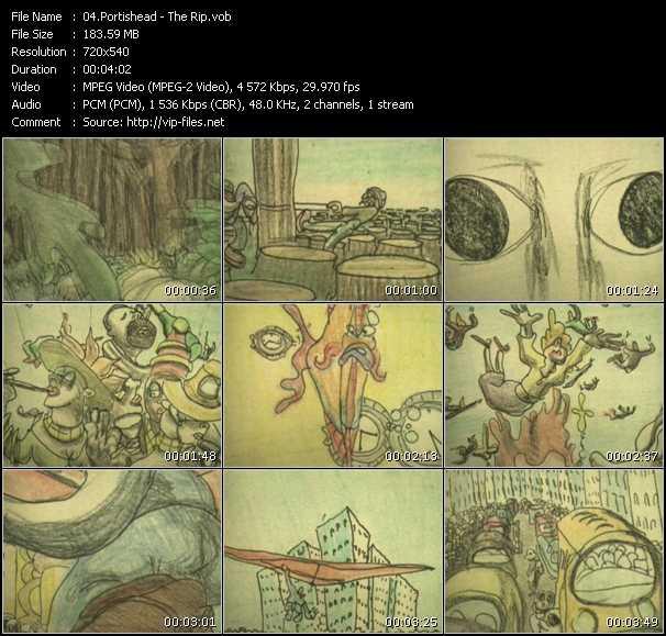 Portishead video screenshot