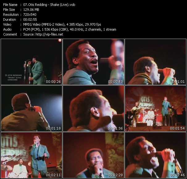 Otis Redding video screenshot