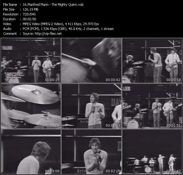 Manfred Mann video screenshot