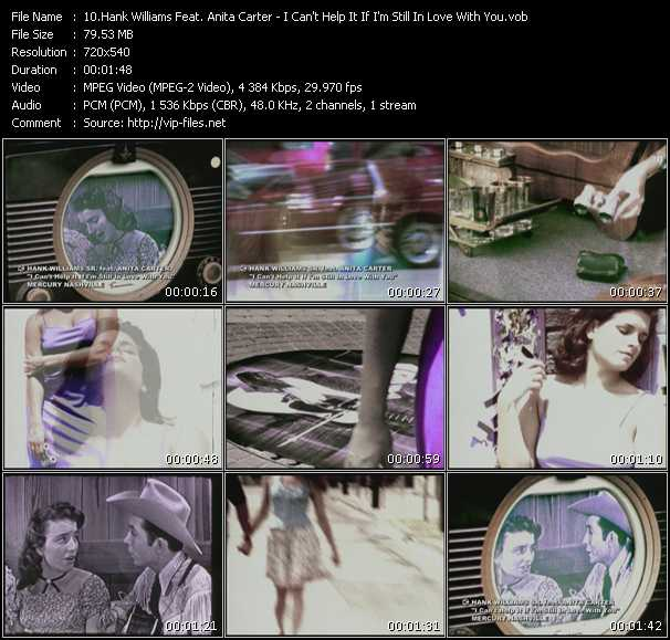 Hank Williams Feat. Anita Carter video screenshot