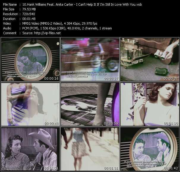 Hank Williams Feat. Anita Carter video screenshot