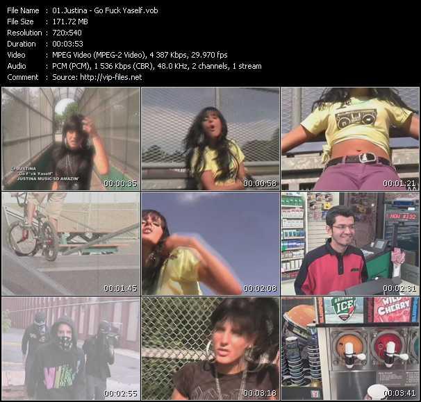 Justina video screenshot