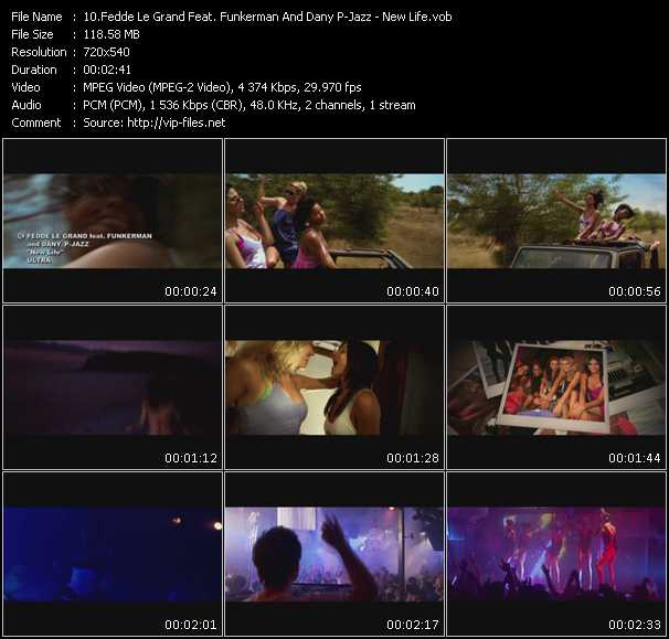 Fedde Le Grand Feat. Funkerman And Dany P-Jazz video screenshot