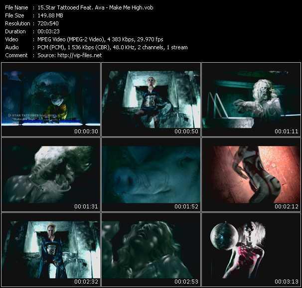 Star Tattooed Feat. Ava video screenshot