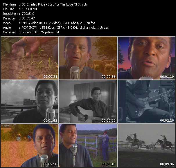 Charley Pride video screenshot