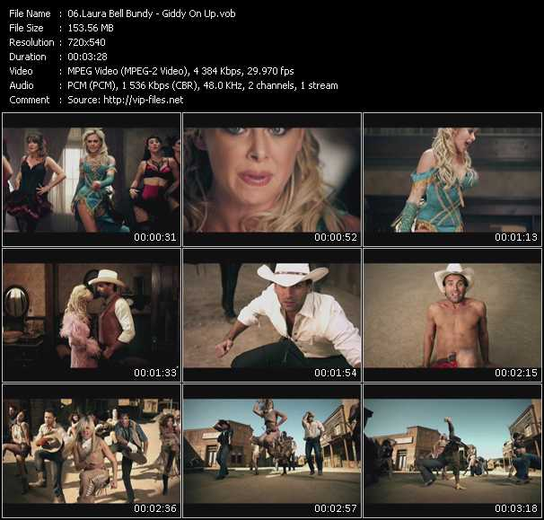 Laura Bell Bundy video screenshot