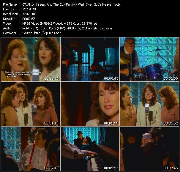 Alison Krauss And The Cox Family video screenshot