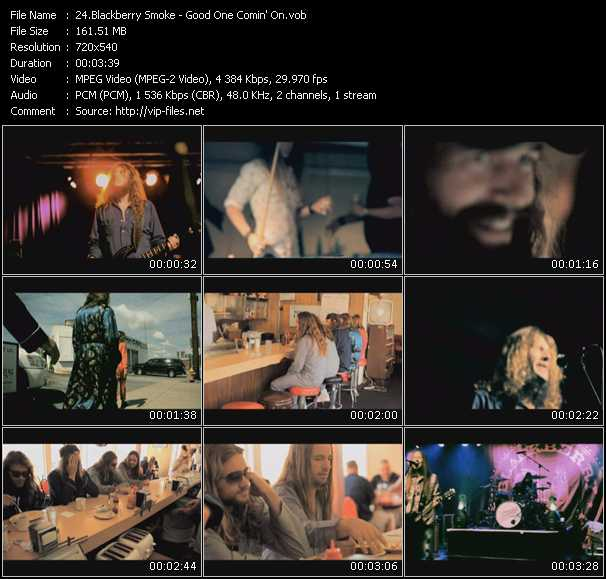 Blackberry Smoke video screenshot