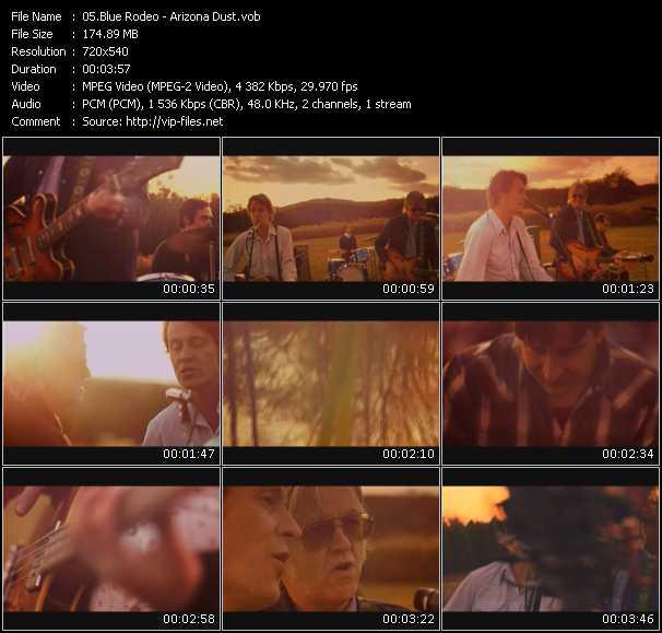 Blue Rodeo video screenshot