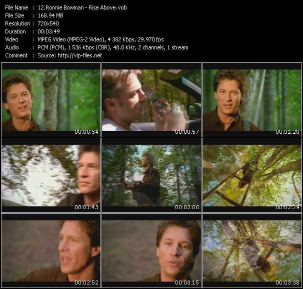 Ronnie Bowman video screenshot