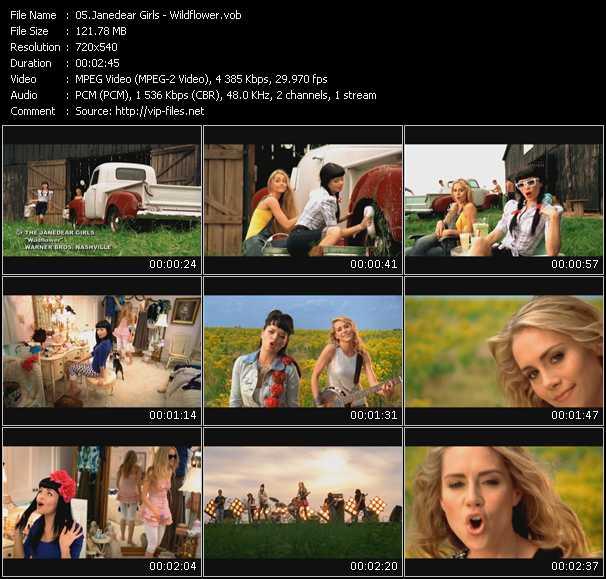 JaneDear Girls video screenshot