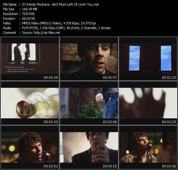 Randy Montana video screenshot