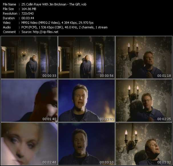Collin Raye With Jim Brickman video screenshot
